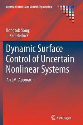 Dynamic Surface Control of Uncertain Nonlinear Systems: An LMI Approach