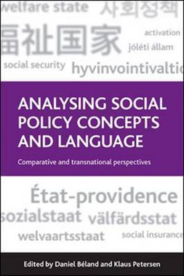 Analysing Social Policy Concepts and Language: Comparative and Transnational Perspectives
