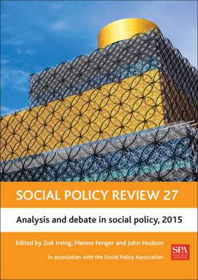Social Policy Review: Analysis and Debate in Social Policy: 2015