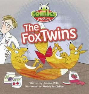 Comics for Phonics: The Fox Twins: Set 06 Red A