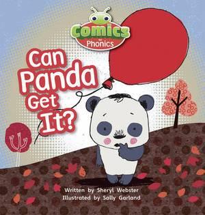 Comics for Phonics Can Panda Get It? 6-pack Pink B Set 5