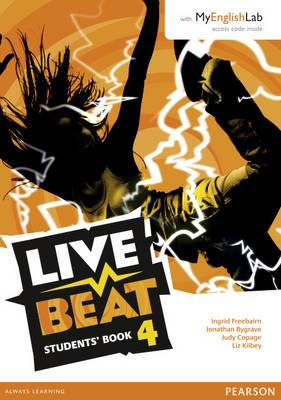 Live Beat 4 Students' Book for MyEnglishLab Pack
