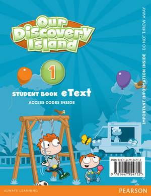 Our Discovery Island American English 1 Etext Students Book Access Card