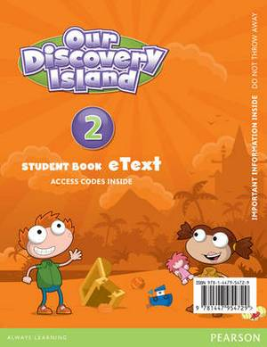 Our Discovery Island American English 2 Etext Students Book Access Card