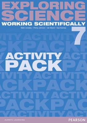 Exploring Science: Working Scientifically Activity Pack Year 7