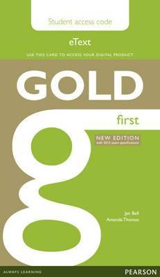 Gold Etext Student Access Card