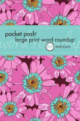 Pocket Posh Large Print Word Roundup: 100 Puzzles