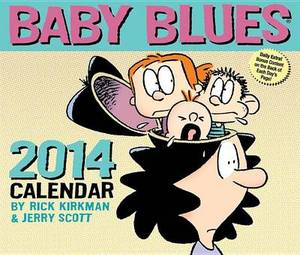 Baby Blues 2014 Box Calendar