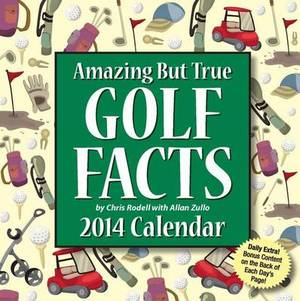 Amazing But True Golf Facts 2014 Box Calendar