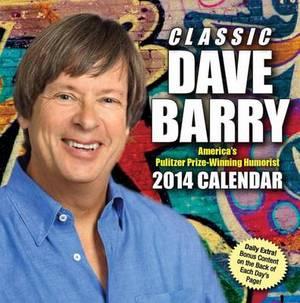 Classic Dave Barry 2014 Box Calendar