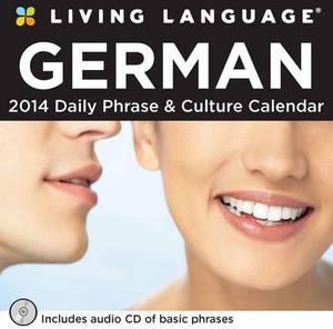 Living Language: German 2014 Box Calendar