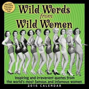 2016 Wild Words Wild Women DTD
