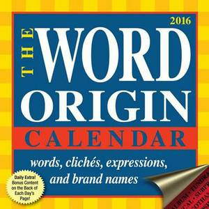 Word Origin Day-To-Day Calendar