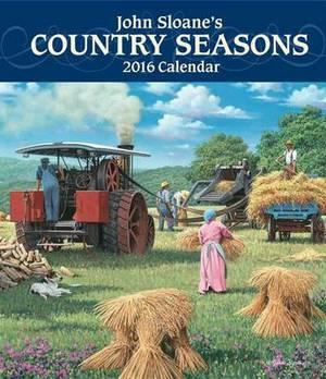 John Sloane's Country Seasons Monthly/Weekly Planner Calendar
