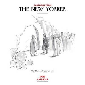 2016 Cartoons from The New Yorker Wall