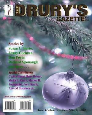 The Drury's Gazette: Issue 4, Volume 4 - October / November / December 2009