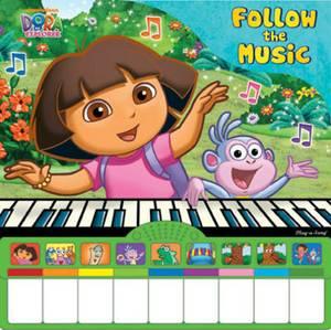 Dora the Explorer - Follow the Music: Piano Book