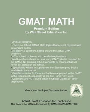 GMAT Math Premium Edition