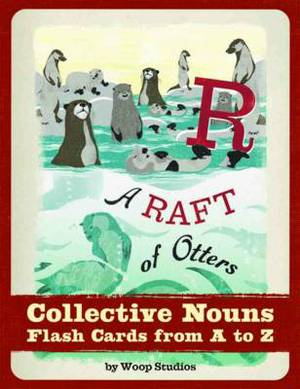 A Raft of Otters Flash Cards