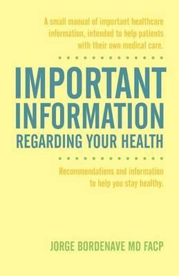 Important Information Regarding Your Health / Informacion Importante de La Salud