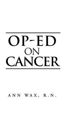Op-Ed on Cancer