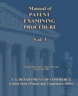 Manual of Patent Examining Procedure (Vol.3)