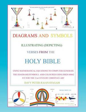 Diagrams and Symbols Illustrating (Depicting) Verses from the Holy Bible Using Mathematical Equation to Computer Generate the Diagrams/Symbols and Coloured Using Bsen 60062 Fit for the 21st Century Christian Art