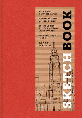 Sketchbook (Basic Small Bound Red)