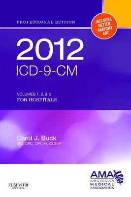 ICD-9-CM 2012 Professional Edition for Hospitals, Compact: Volumes 1, 2 & 3