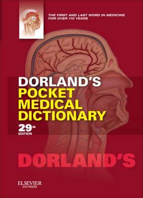Dorland'S Pocket Medical Dictionary, 29e