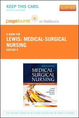 Medical-Surgical Nursing - Elsevier eBook on Vitalsource (Retail Access Card): Assessment and Management of Clinical Problems