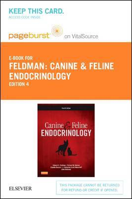Canine and Feline Endocrinology - Elsevier eBook on Vitalsource (Retail Access Card)