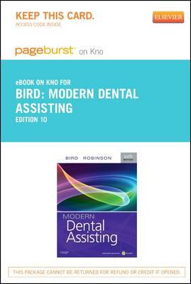 Modern Dental Assisting- Elsevier eBook on Intel Education Study (Retail Access Card)