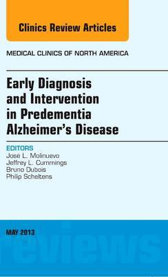 Early Interventions in Alzheimer's Disease Vol 97-2