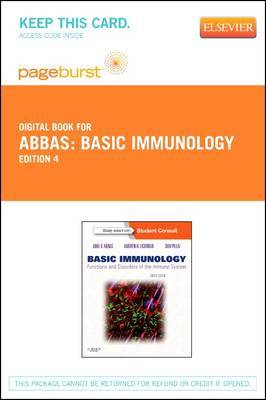Basic Immunology - Elsevier eBook on Vitalsource (Retail Access Card): Functions and Disorders of the Immune System