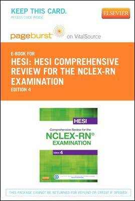 Hesi Comprehensive Review for the NCLEX-RN Examination - Elsevier eBook on Vitalsource (Retail Access Card)