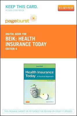 Health Insurance Today - Elsevier eBook on Vitalsource (Retail Access Card): A Practical Approach