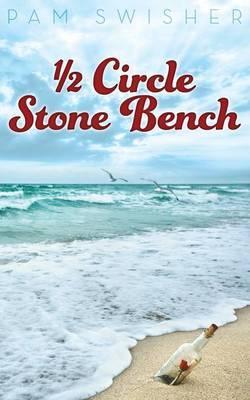 1/2 Circle Stone Bench