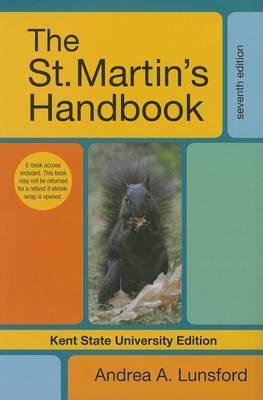 The St. Martin's Handbook, Kent State University Edition