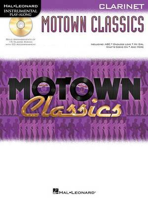 Instrumental Play-Along: Motown Classics - Clarinet