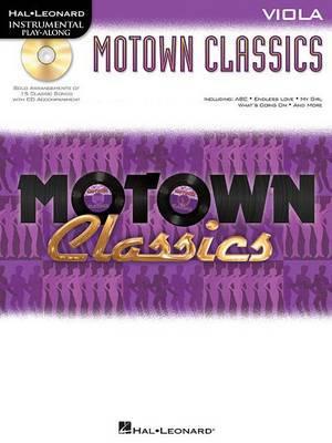 Instrumental Play-Along: Motown Classics - Viola