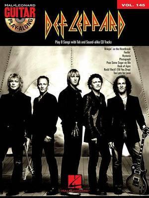 Guitar Play-Along: Def Leppard: Volume 145