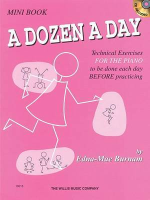 A Dozen A Day (Mini Book/Online Audio)