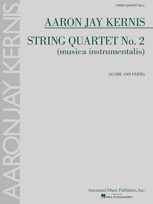 String Quartet No. 2, Musica Instrumentalis - Score and Parts