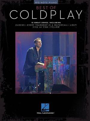 Best of Coldplay: Big-Note Piano