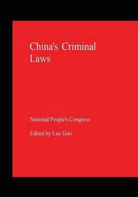 China's Criminal Laws