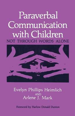 Paraverbal Communication with Children: Not through Words Alone