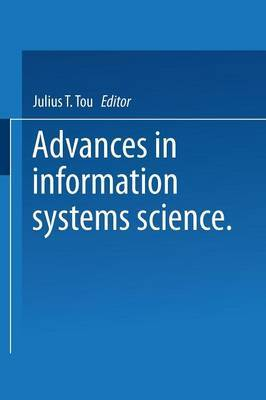 Advances in Information Systems Science: Volume 4