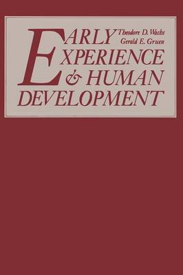 Early Experience and Human Development
