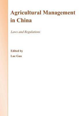 Agricultural Management in China